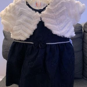 Navy blue wonder nation dress